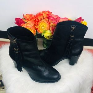 Ralph Lauren | leather tassel boots sz 6.5B